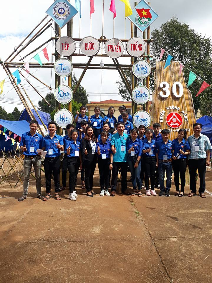 hội trại kĩ niệm 40 năm ngày thành lập huyện krông năng